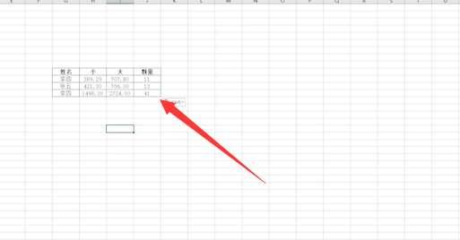 如何用excel做曲线图第1步