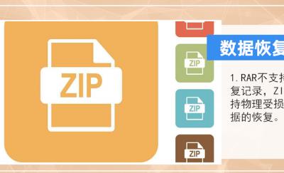 压缩文件格式rar和zip有什么区别