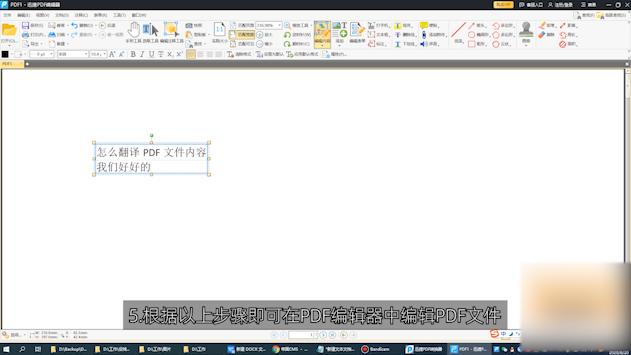 如何编辑PDF文件第5步