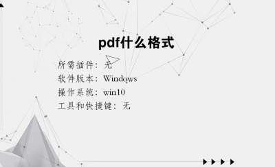 pdf什么格式