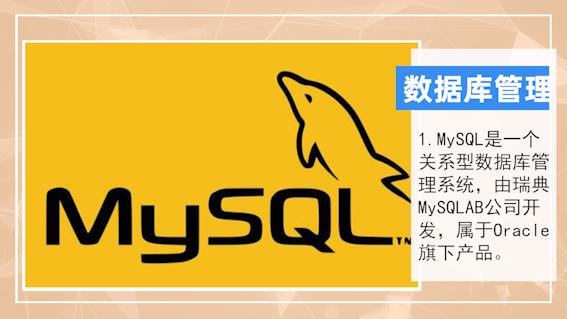 mysql是什么