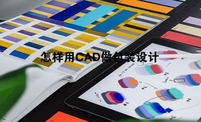 怎样用CAD做包装设计